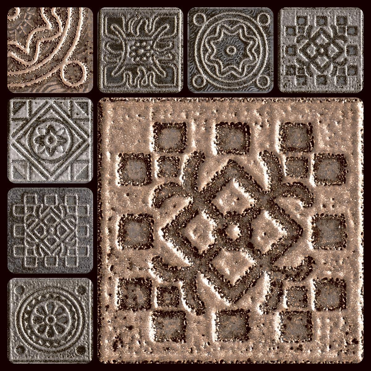 HRP Squares Indus Seal